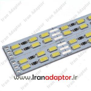LED دو لاین آفتابی مهتابی قیمت عمده ایران آداپتور