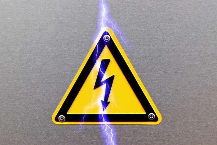 ولتاژ والپیپر خطر برق