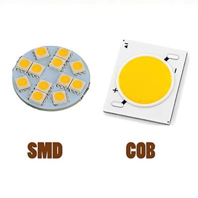 تفاوت ال ای دیsmd و cob